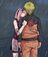 NaruSaku . Alone by starchiishio