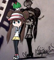 Rosa Pokemon BW2 by Clawissa