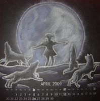 Wolfs Rain April by OkamiiScarlett