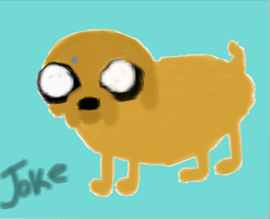 Jake the dog by KaylaMarie831