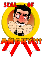 Angry Joe: seal of ANGREH by BD-Ghis
