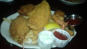 The Pappadeaux seafood platter by mylesterlucky7