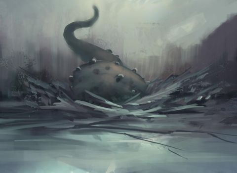 Daily spitpaint - Ice breaker by snootchy