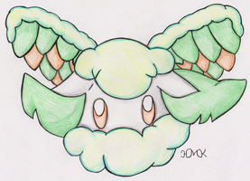 Old Pokemon, New Type 4: Cottonee by Shabou