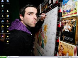 Zachary Quinto looking scared by Claire-hime