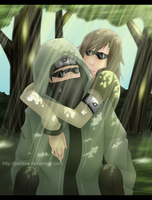 Spring walk: Shino and Ikuchi by Pelissa