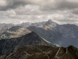 Red Peaks by topperGfx