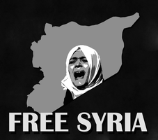 Free Syria by Sharoof