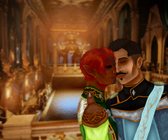A Moment Together at the Winter Palace by Lainpinky131