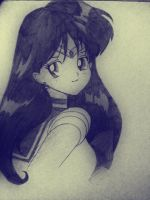 Sailor Mars by Crimsella