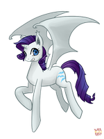 Rarity Bat by norang94