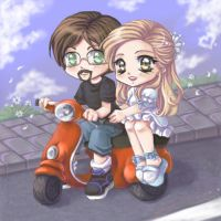 +Comission+Vespa+ by Miriamele