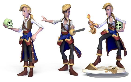 Guybrush Threepwood - Monkey Island series by scloak