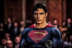 Christopher Reeve Superman  by Spider-maguire