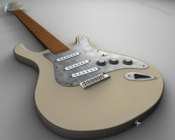 Fender Guitar by 1995levente