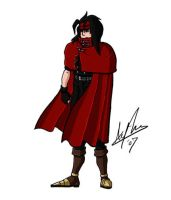 Vincent Valentine by MFM-comics