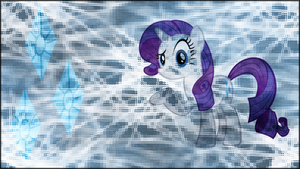 Rarity wallpaper by Fragin
