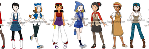 Pokemon Princes genderbend by Hapuriainen