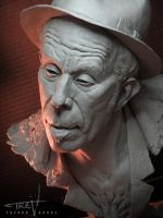Tom Waits From Mortal Clay 16 by TrevorGrove