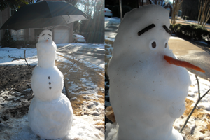 Olaf In Real Life by pikacutie25