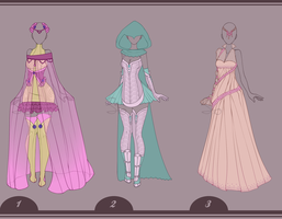 09 | Outfit Design Adopt's - [CLOSED] by Llamarsio