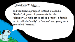 Cat Facts With Eira ll 3 by AriaSnow