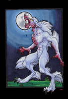 White Werewolf by StangWolf