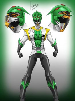Zyuoh the Zord by Metrosaurus