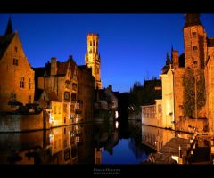 Bruges By Night by EmilieDurand