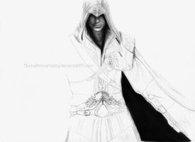 Assassin's Creed 2 Ezio wip by DivineImmortality