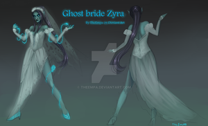 Ghost Bride Zyra by TheEmpa
