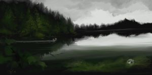 Crystal Lake by Parapsychologist