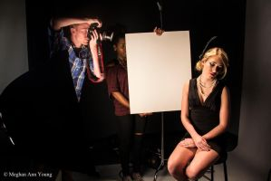 Behind the Scene shoot for Paul Mitchell School by Askingtoattackmeghan