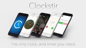 My App Clockstir by ndenlinger