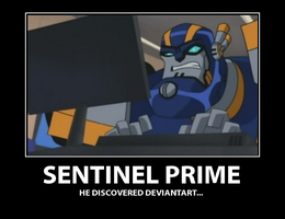 Sentinel Prime Motivator by Raygirl4evah