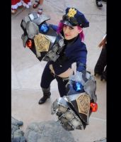 Officer Vi Cosplay League of Legends 4 by spacechocolates