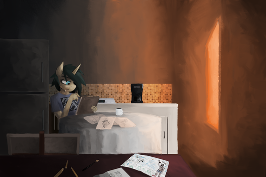 Coffee At Dawn by PacoFreeman