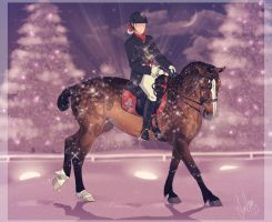 .:BRlS Glitter and Snow Event - Entry:. by BlueMoonStables