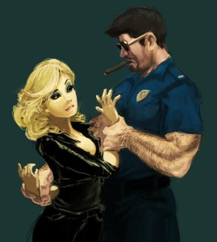 Good Cop Bad Cop (Mr. Saxobeat) by worksofheart