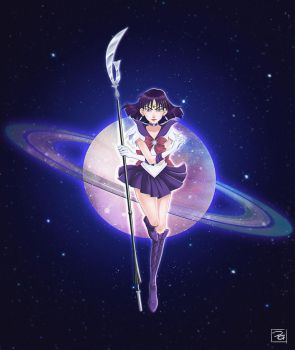 Sailor Saturn by Filika