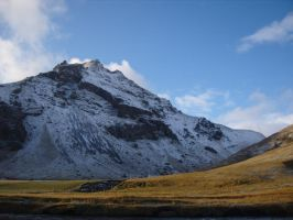 icelandic mountain by citruscouture
