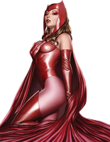 Scarlet Witch 2 render by bobhertley