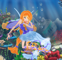 AT: Lily Harmonix w/bg by MysticSparkleWings