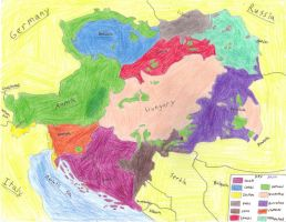 Ethnic Austria-Hungary by SMS00