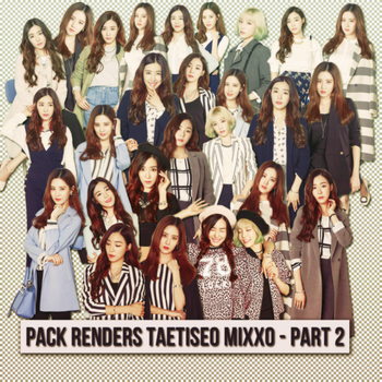 [160206] Pack Renders TaeTiSeo Mixxo - Part 2 by nguyetsone2