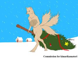 COM : Kimari in Christmas moment by whiteguardian