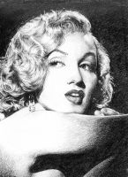 Marilyn Monroe by FlashElectron