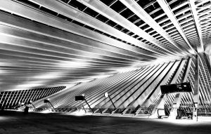 Structure - Liege-Guillemins V by ThomasHabets