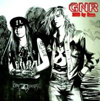 Emma's GNR-Axl Duff by beckpage