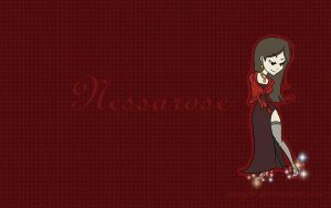Wallpaper: Nessarose Red by mary90